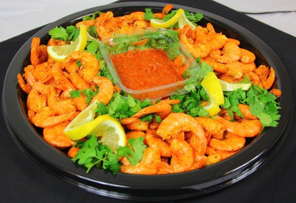 Small Deluxe Shrimp Tray